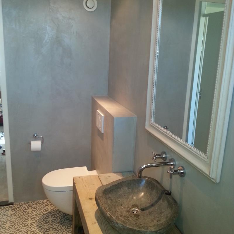 rens de jonge installaties.nl  projecten  badkamer betoncire met, Meubels Ideeën
